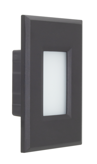 American Lighting SGL4-120-30-OW SGL4 120 30 OW 120V AC 2W 3000K LED Step Light or 714176021034 or Available in multiple trim styles featuring dedicated faceplates in white and black finishes, Vertical and Horizontal install options, or American Lighting