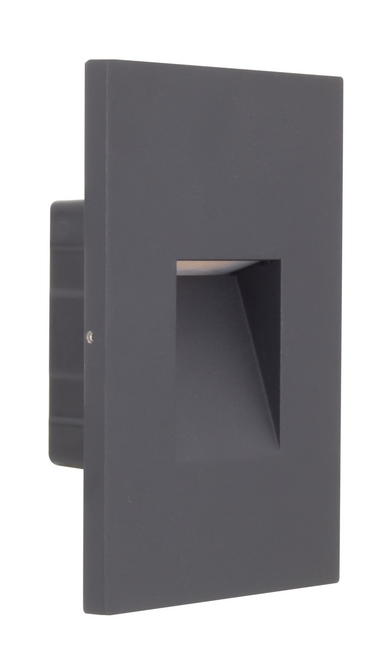 American Lighting SGL4-120-30-VS SGL4 120 30 VS 120V AC 2W 3000K LED Step Light or 714176021027 or Available in multiple trim styles featuring dedicated faceplates in white and black finishes, Vertical and Horizontal install options, or American Lighting