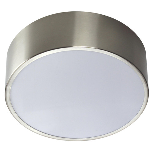 Wave Lighting 168FM-LR15W-BN OCEANA LIGHTWAVE - BRUSHED NICKLE WHITE LENSor Wave Lighting or 168FM-LR15W-BN