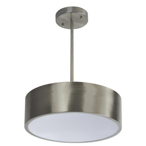 Wave Lighting 168FM-LR22W-BN-PK OCEANA LIGHTWAVE - BRUSHED NICKLE WHITE LENS PKor Wave Lighting or 168FM-LR22W-BN-PK