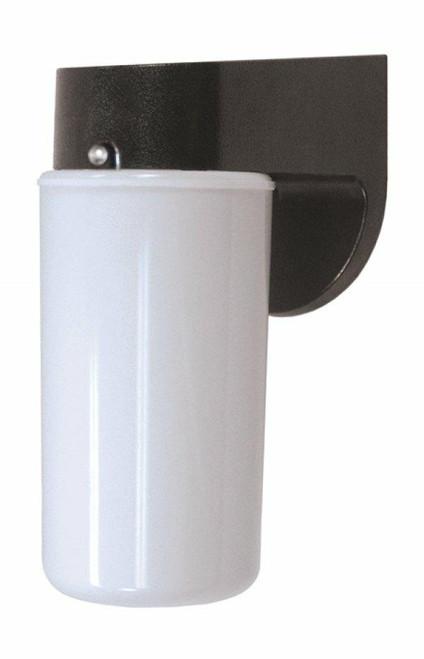 Wave Lighting 217-BK-LR12W Pocket Wall Lantern Lightwave - Black W/Opal Lensor Wave Lighting or 217-Bk-Lr12W