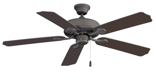 RP LightingFans 1015W-OB Sunset Bronze Ceiling Fan 52 inch Sweep - 1015W-OB