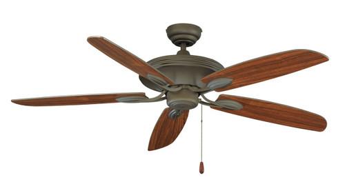 RP LightingFans 1056OB Mediterranean Bronze Ceiling Fan 52 inch Sweep - 1056OB