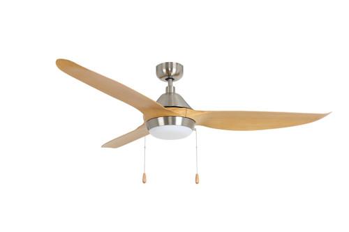 RP LightingFans 1072BN-LK Colibri Brushed Nickel Ceiling Fan 60 inch Sweep - 1072BN-LK