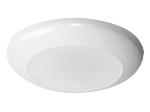 Disc Light, 07W, 90Cri , 2700K / 3000K / 4000K / 5000K Selectable, White DL6079CSWH by Maxlite