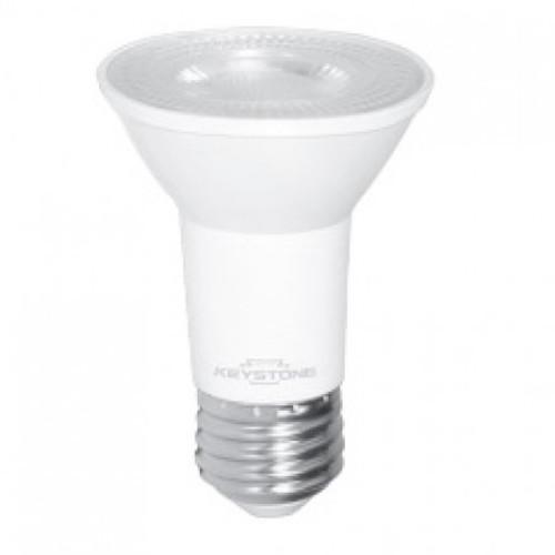 Keystone Technologies KT-LED6.5PAR16-S-827 50W Equiv., 6.5W, 500 Lumen, Par 16, E26, ³80 CRI, Dimmable 27k/3k/4k/5k PAR16 Light Bulbs