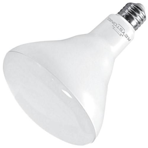 Keystone Technologies KT-LED15BR40-850 90W/85W Equiv., 15W, 1300 Lumen, BR 40, E26, ³80 CRI, Dimmable 27k/3k/4k/5k Light Bulbs