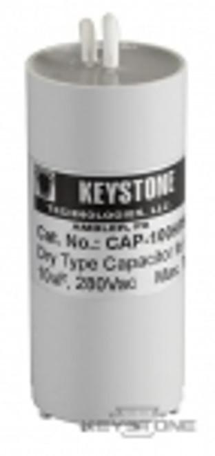 Keystone Technologies CAP-100HPS Capacitor for 100W HPS Quad, 10uF, 280V, Dry Film High Pressure Sodium Ballasts