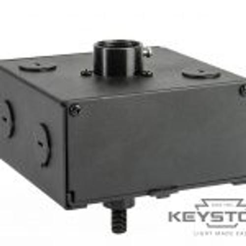 Keystone Technologies KT-RHLED-JBOX-PM Round Highbay J-Box, Optimized for Pole Pendant Application High Bay