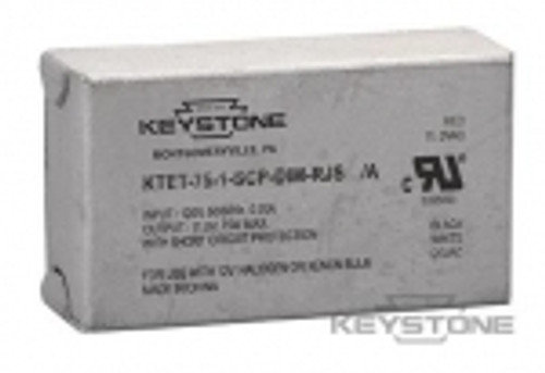 Keystone Technologies KTET-75-1-SCP-DIM-RJS 75W Transformer, 12V Output, With Studs Transformers