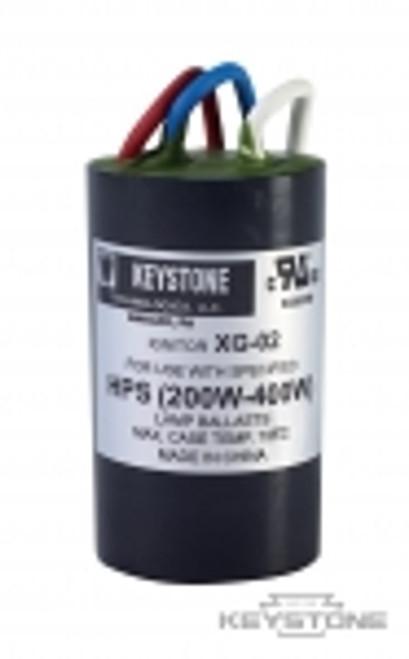 Keystone Technologies IGN-XG-02 Ignitor for 250-400W HPS High Pressure Sodium Ballasts