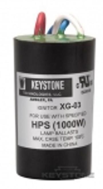 Keystone Technologies IGN-XG-03 Ignitor for 1000W HPS High Pressure Sodium Ballasts