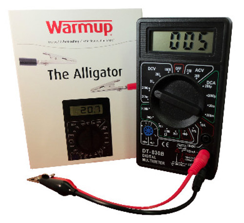 Warmup M-DGMTR WarmUp ACC-DGMTR Warmup Alligator Tester for Heated Floors
