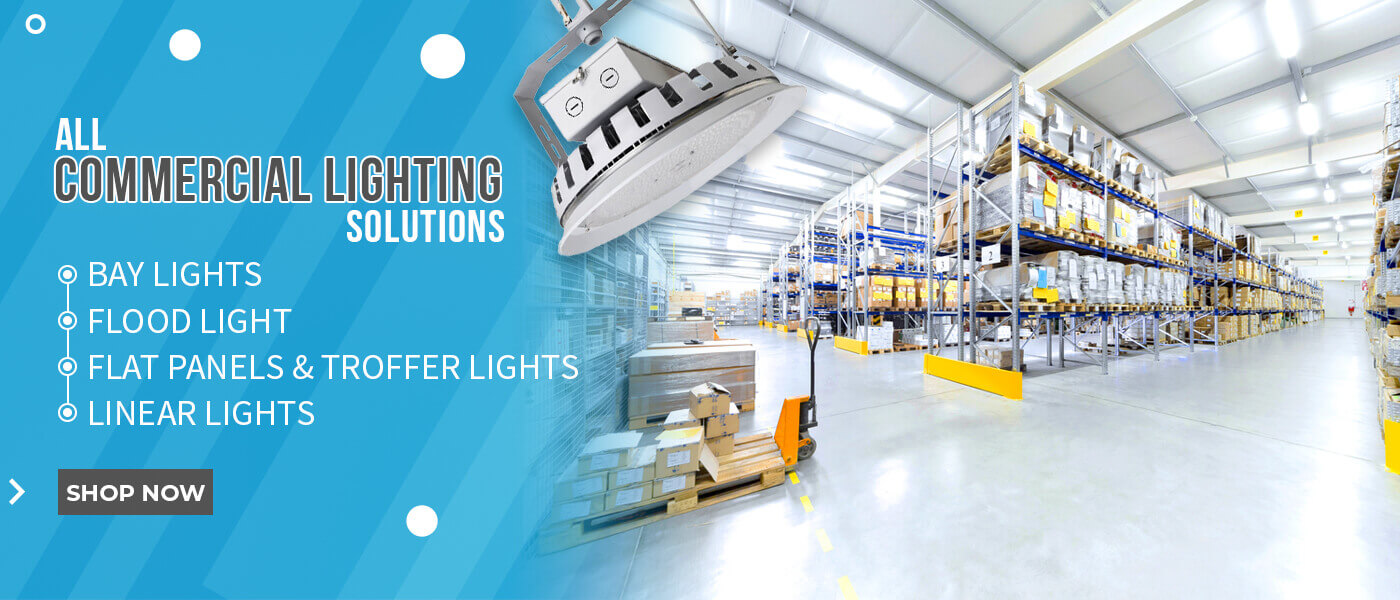 Shop the latest commercial LED light fixtures