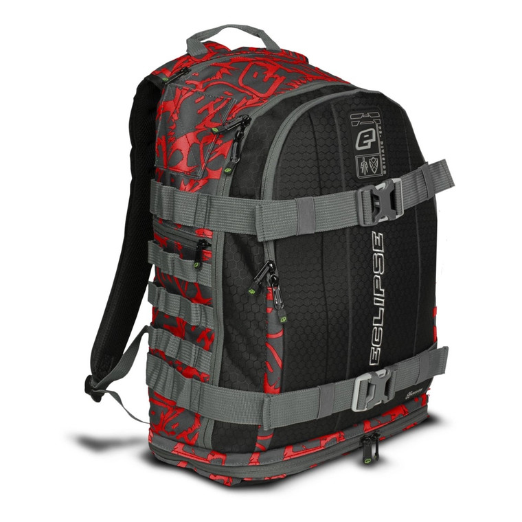 Planet Eclipse GX2 Gravel Bag - Paintball Backpack Gearbag - Fighter Red