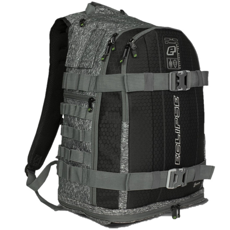 Planet Eclipse GX2 Gravel Bag - Paintball Backpack Gearbag - Grey Grit