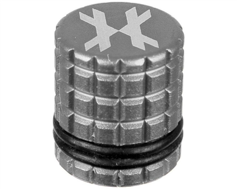 HK Army Paintball Tank - HPA / N2 - Fill Nipple Cover - Silver