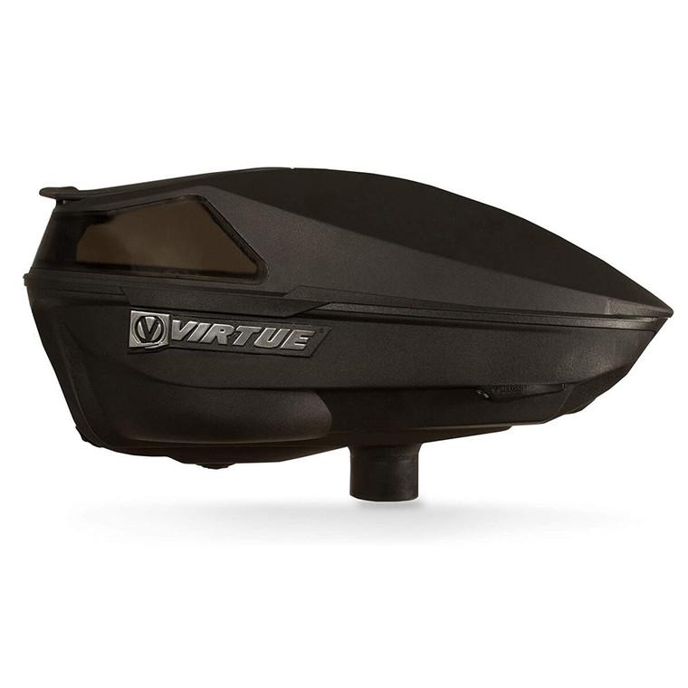 New Virtue Spire IV Electronic Paintball Loader Spire 4 Hopper - 220 - Black