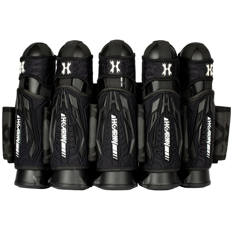 HK Army Zero G 2.0 Paintball Harness Strapless Pack - 5+4+4 Black Black