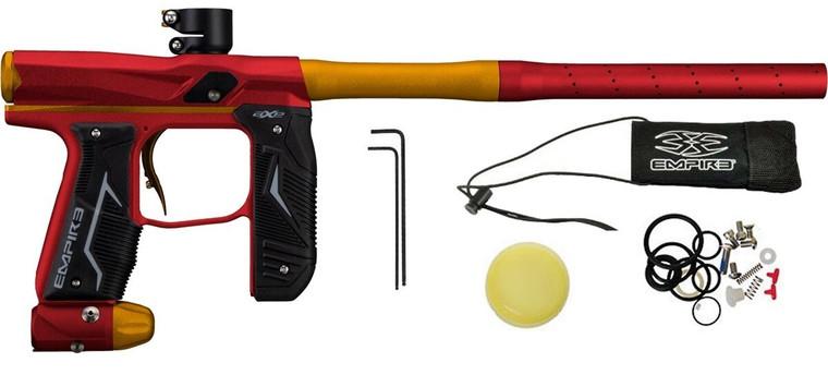 Empire Axe 2.0 Paintball Gun Marker - Dust Red / Dust Orange