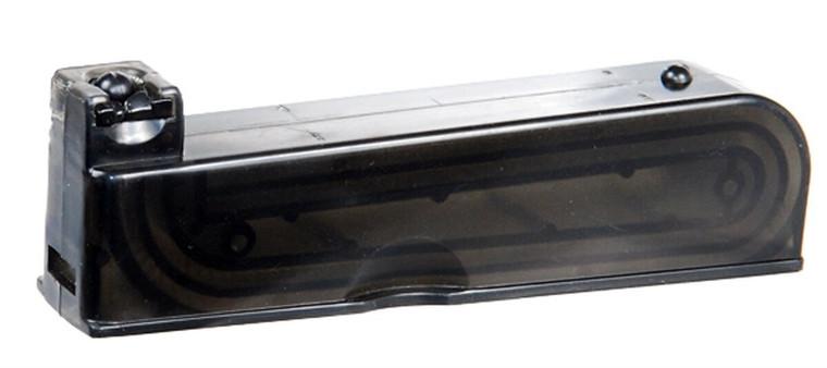24 Round AIRSOFT AGM VSR-10 Sniper Rifle Magazine Clip - Fits All MP001 Models -