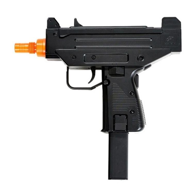Double Eagle M33 Spring Airsoft Uzi Style Pistol - Black