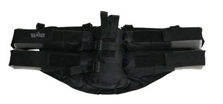 Genx Global Series 4+1 Paintball Harness Pod Pack w Tank Pouch - Black