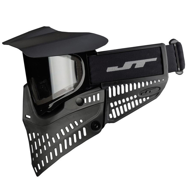 JT Spectra Proshield Paintball Mask w/Thermal Lens Goggles - Black