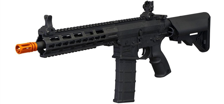 Tippmann Tactical Commando AEG CQB Airsoft Rifle - Key Hole Mod - Short - Black