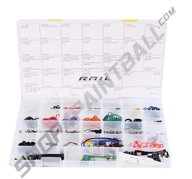 Proto Matrix Rail / Reflex Rail Complete Paintball Tech Parts Equipment Kit