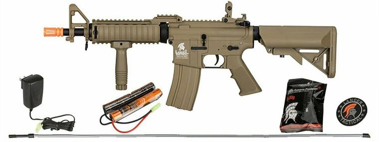 Lancer Tactical LT-02CTL-G2 LOW FPS MK18 POLYMER MOD 0 AEG AIRSOFT RIFLE TAN