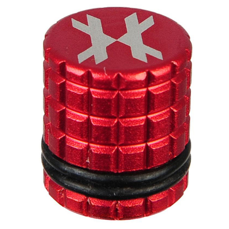 HK Army Paintball Tank - HPA / N2 - Fill Nipple Cover - Red