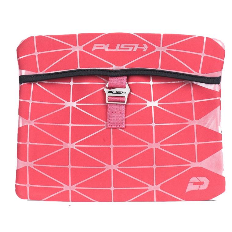 PUSH Diamond Paintball Gun Marker Sleeve Bag - Red