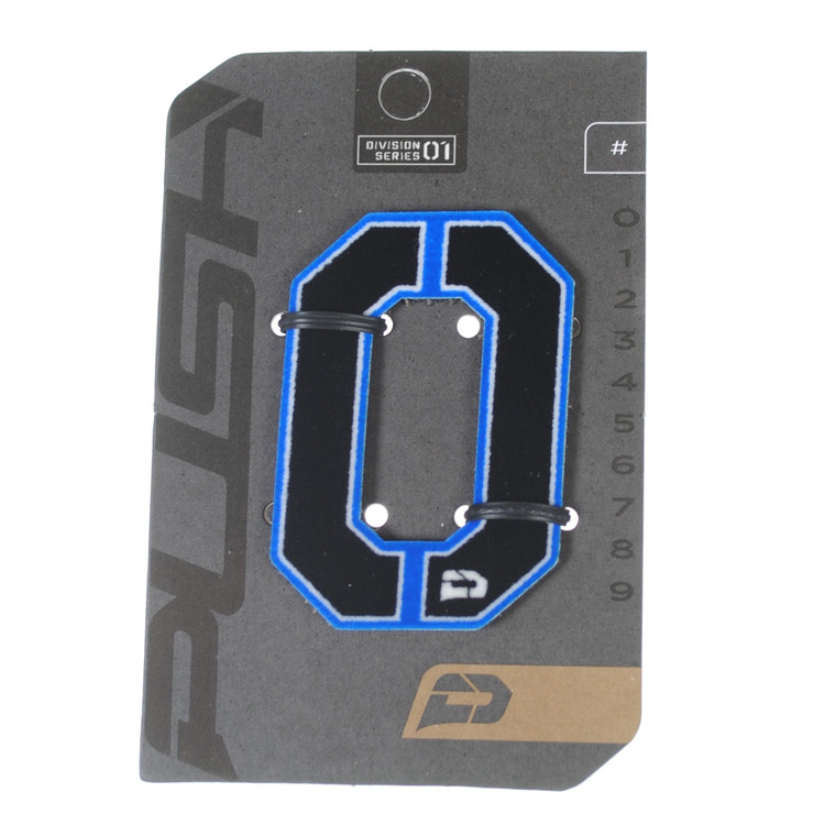PUSH Paintball Backpack Gear Bag Numbers - Blue - #0