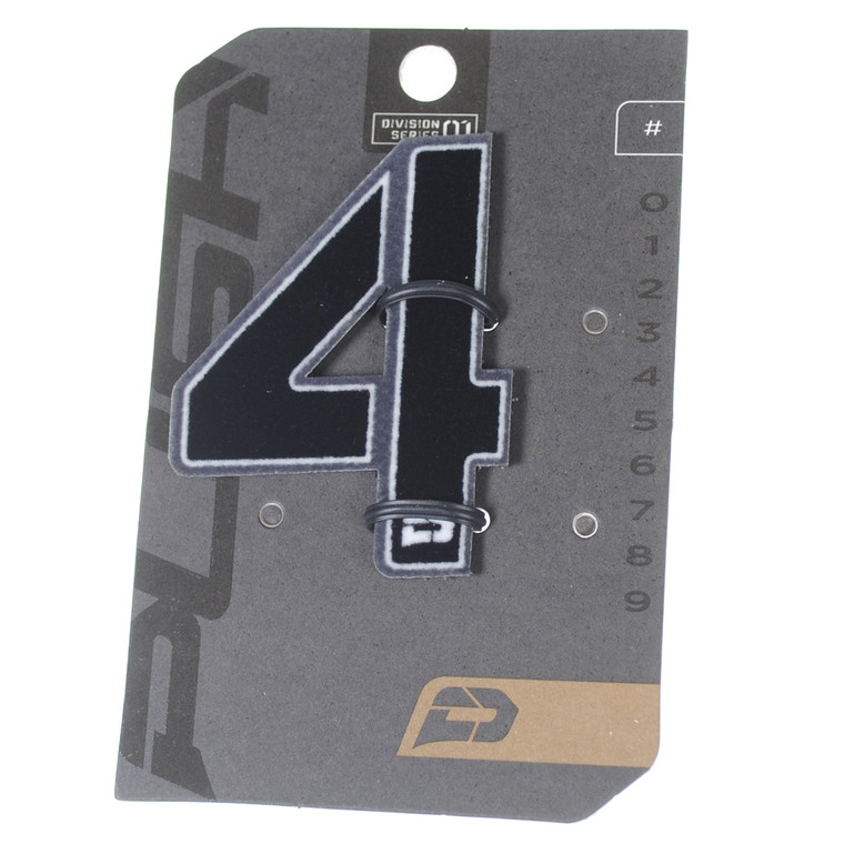 PUSH Paintball Backpack Gear Bag Numbers - Grey - #4