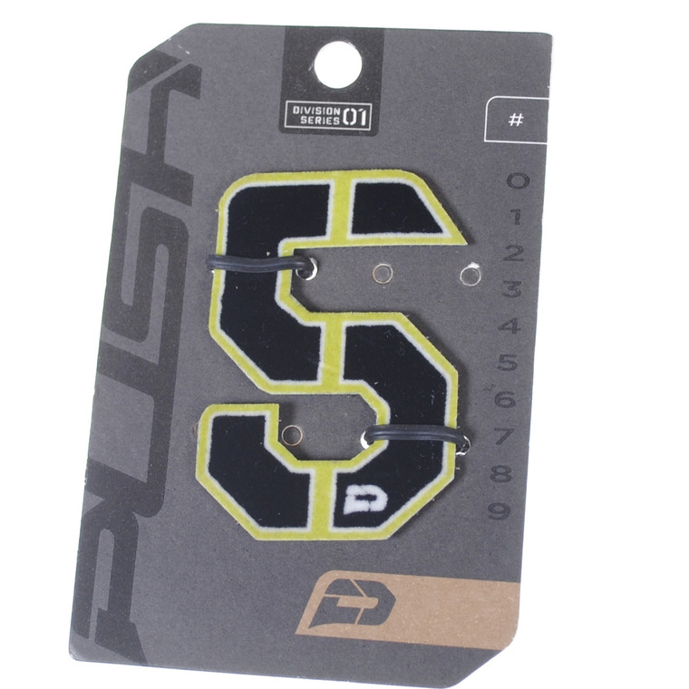 PUSH Paintball Backpack Gear Bag Numbers - Lime - #5