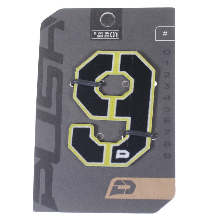 PUSH Paintball Backpack Gear Bag Numbers - Lime - #9