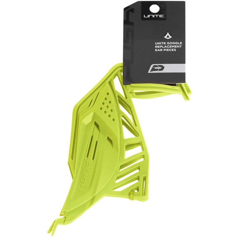 PUSH Unite Paintball Goggle / Mask Soft Ears Pieces - Lime