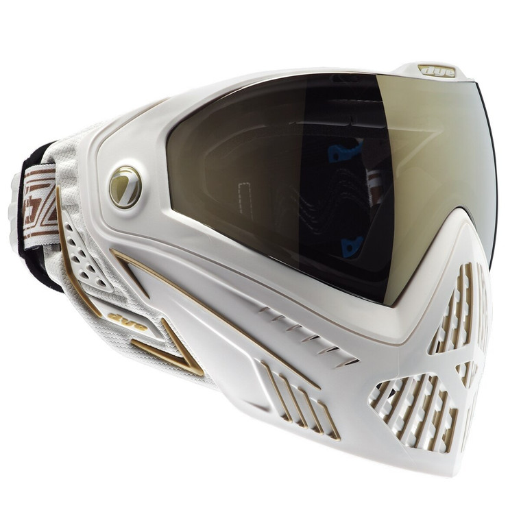 Dye I5 2.0 Thermal Paintball Goggle Goggles Mask White & Gold