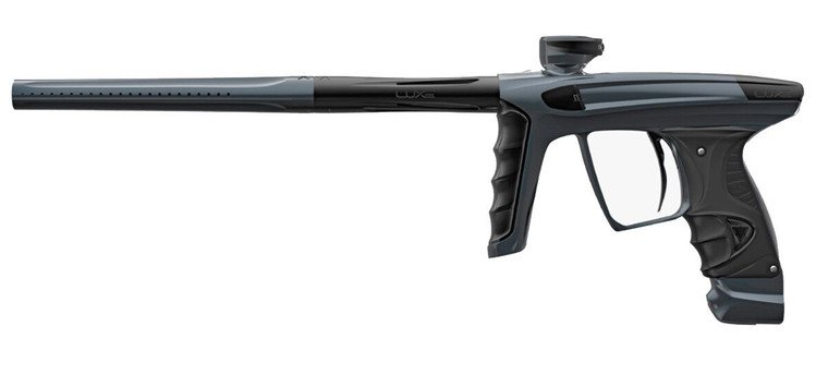 New DLX LUXE X Paintball Marker Gun - Polish Pewter / Polish Black