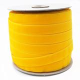 Maize Yellow Velvet Ribbon Spool Such Good Supply