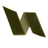 Forest Green Velvet Ribbon