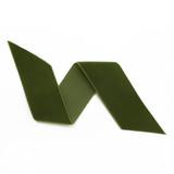 Moss - Hunter Green Velvet Ribbon By The Yard - Such Good Supply
