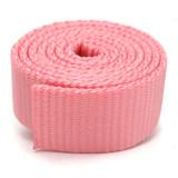 Pink Nylon Webbing by the yard