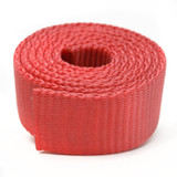 Coral Nylon Webbing by the