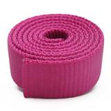 dark pink nylon webbing heavy duty magenta nylon webbing raspberry pink dog collar webbing