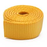 yellow heavy duty nylon webbing by the yard dog and pet collar webbing