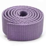 violet nylon webbing by the yard heavy duty light purple dog collar webbing