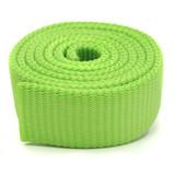 Bright Neon Green Green Apple Heavy Duty nylon webbing by the yard