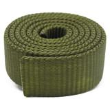 Army Green nylon webbing by the yard